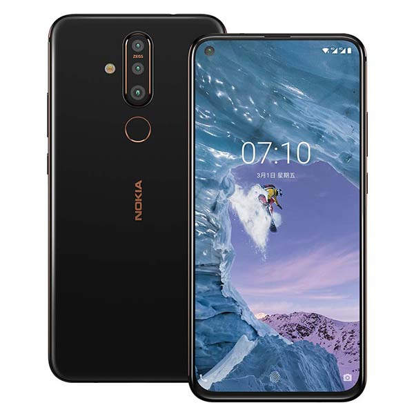 Nokia X71 All-Screen Smartphone with Triple Rear Cameras