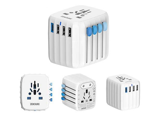 Passport GO Travel Adapter with 30W Power Delivery and GaN Technology