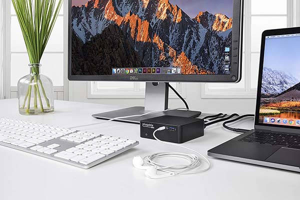 Plugable USB-C Docking Station with 85W Power Delivery