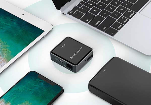 RAVPower Wireless Travel Router and FileHub