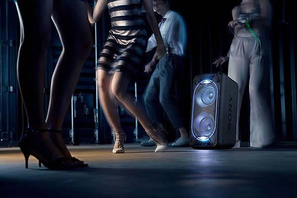Sony GTK-XB90 Portable Bluetooth Speaker with Mic Input