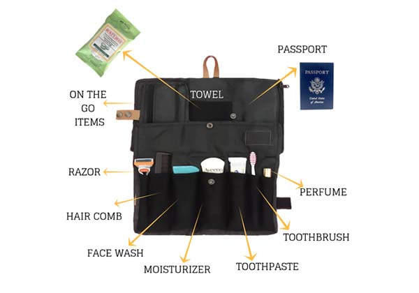 Toilo Lightweight and Compact Toiletry Bag