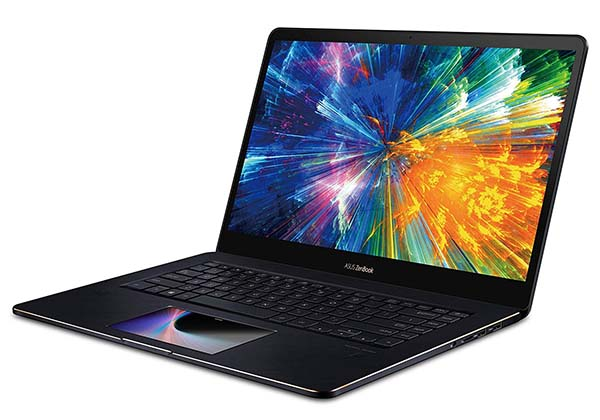 Asus ZenBook Pro 15 Touchscreen Laptop with ScreenPad