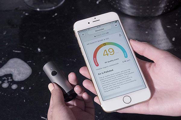 Atmotube Plus Outdoor and Indoor Portable Air Quality Monitor