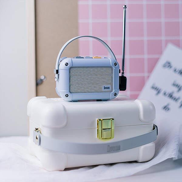 Divoom Macchiato Retro Portable Wireless Speaker