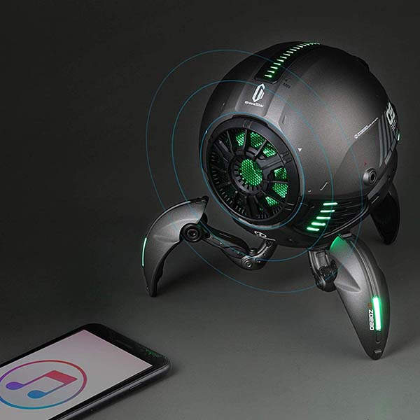 Domie GravaStar Robot-Like Bluetooth Speaker