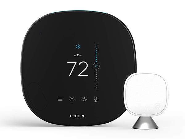 Ecobee SmartThermostat with Voice Control with Spotify Connect