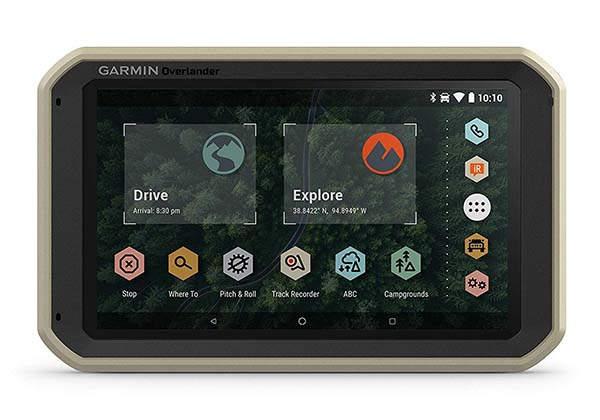 Garmin Overlander Rugged Multipurpose Navigator