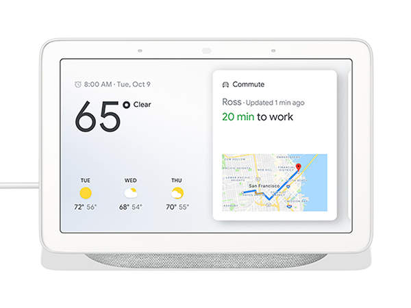 Google Home Hub with Google Assistant