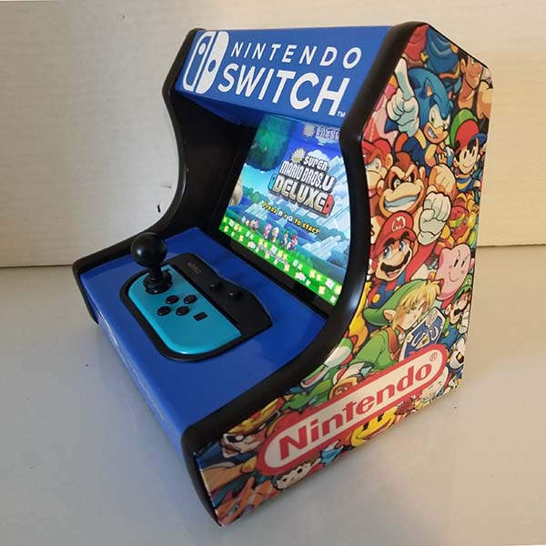 Handmade Custom Switch Arcade Cabinet Dock