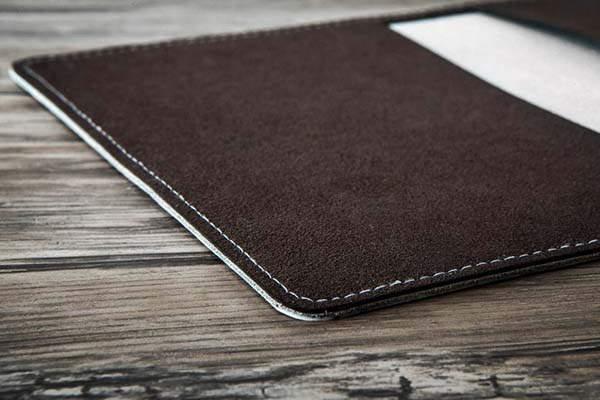 Handmade Heartstone Leather Passport Cover