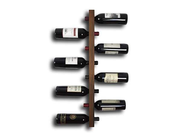 Handmade Minimal Wooden Wine Rack