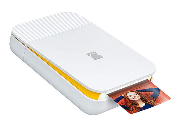Kodak Smile Bluetooth Instant Photo Printer for iPhone and Android
