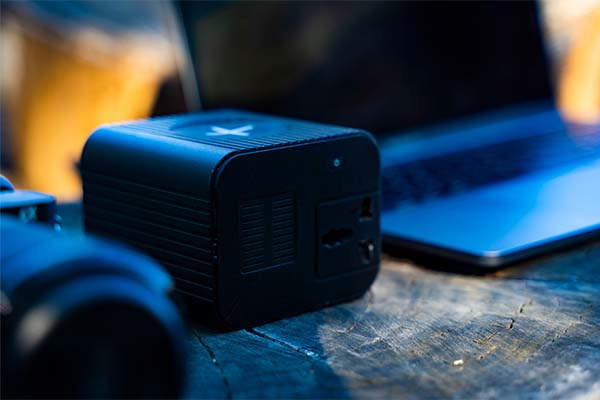 Monster X Ultra Portable Power Station with 100W AC Outlet, 10W Wireless Charger and More