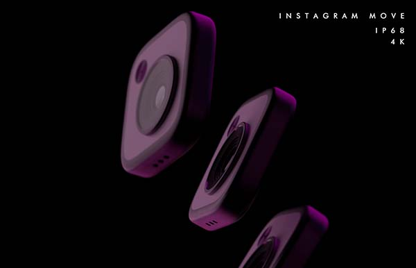 Move II Instagram Inspired 4K Action Camera