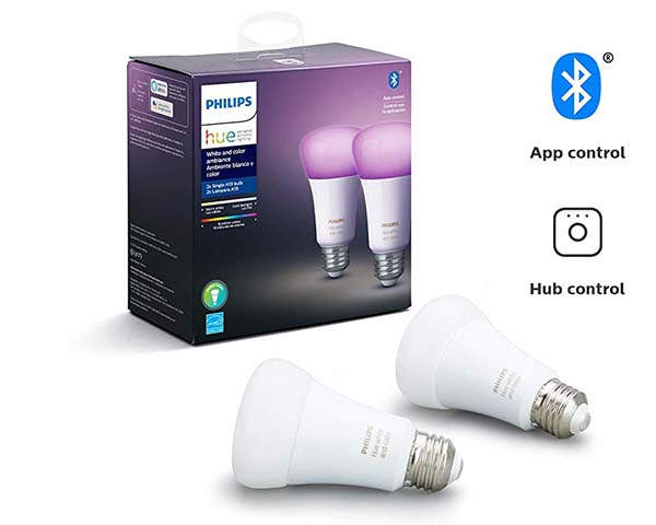Philips Hue A19 Smart LED Bulb with Bluetooth