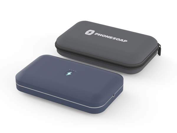 PhoneSoap Go Portable Smartphone Sanitizer with Power Bank Built-in