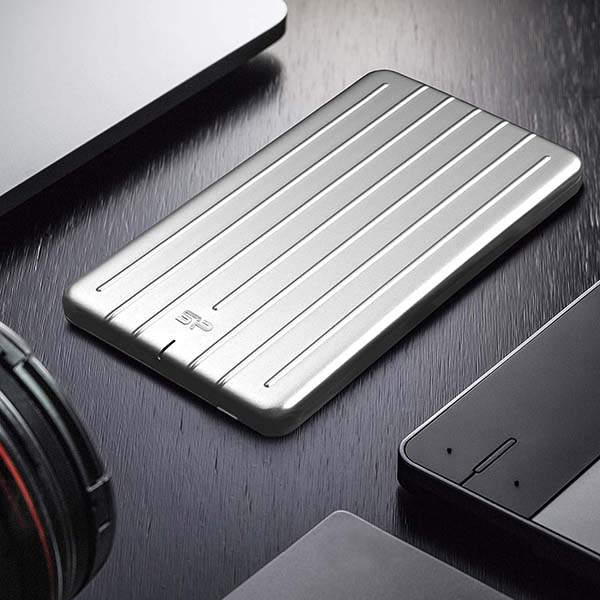 Silicon Power Bolt B75 Portable SSD with Aluminum Casing