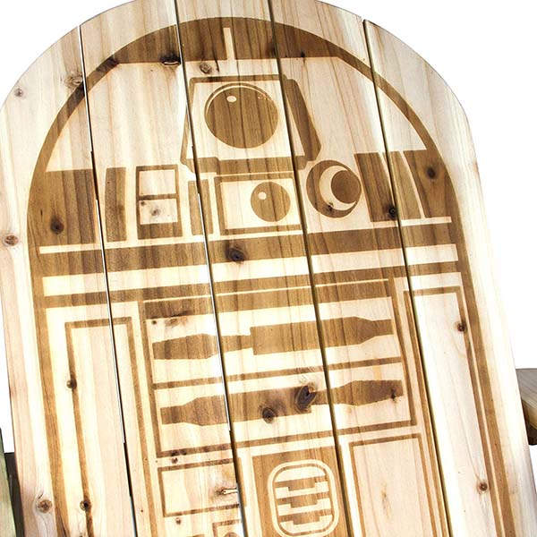 Star Wars R2-D2 Wooden Adirondack Chair