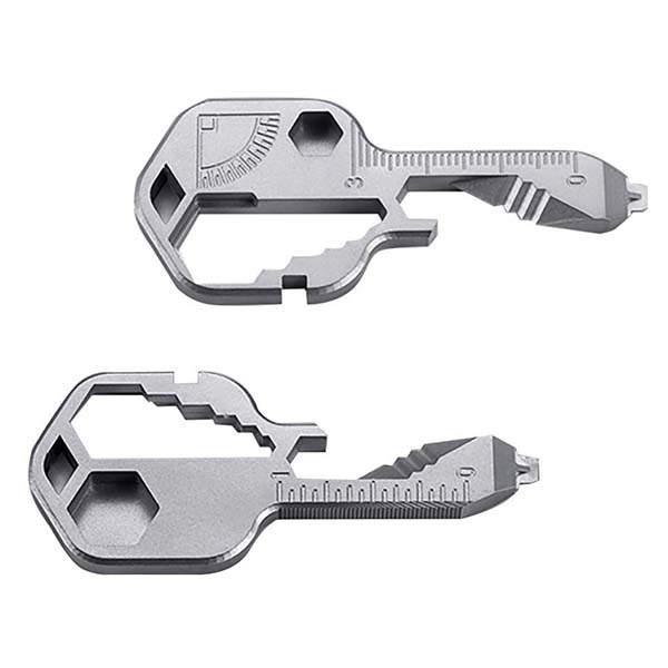 The 16-In-1 Stainless Steel EDC Keychain Multitool