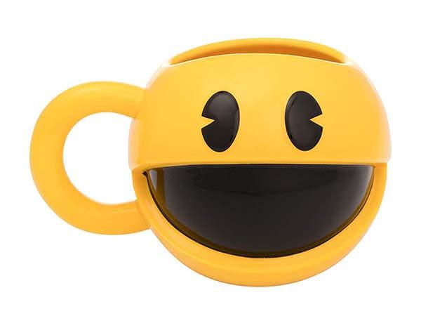 The 3D Sculpted Pac-Man Mug