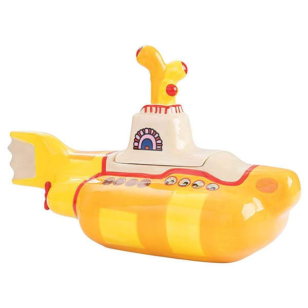 The Beatles Yellow Submarine Ceramic Cookie Jar