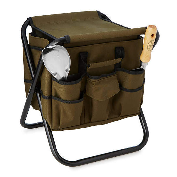 The Steel Garden Seat with a Nylon Tool Bag