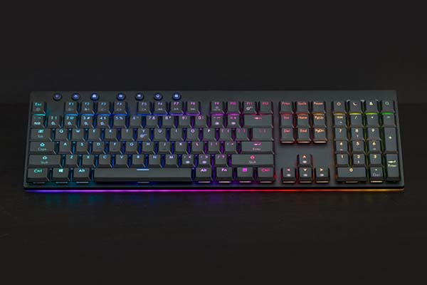 Venture Ultra-Thin Fully Sized Bluetooth Mechanical Keyboard