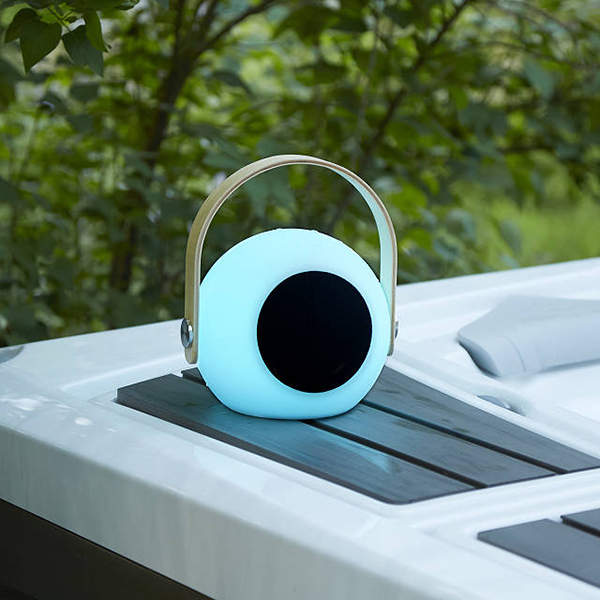 Vibe Portable Bluetooth Speaker with LED Lantern