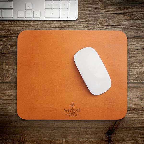 Wohltat Handmade Genuine Leather Mouse Pad