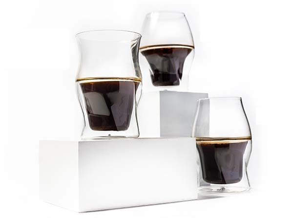 Avensi Double-Walled Coffee Glasses