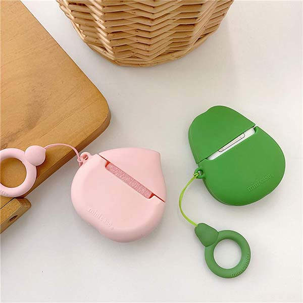 Cute Fruit Inspired Silicone AirPods Case