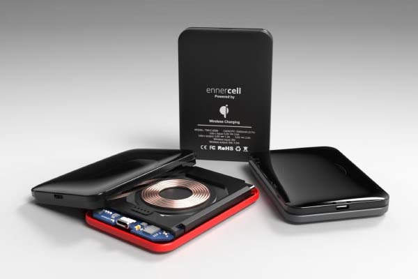 Ennercell Cable-Free Portable Waterproof Power Bank