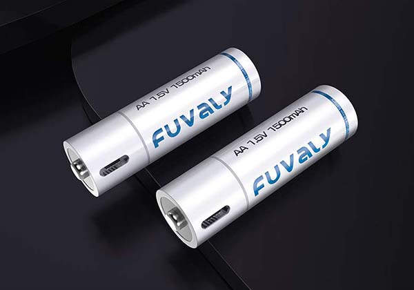 Fuvaly USB Rechargeable AA/ AAA Lithium-ion Batteries
