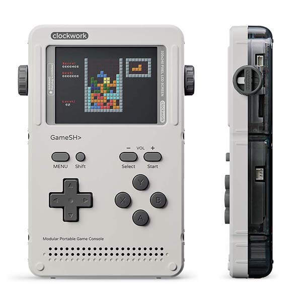GameShell Open Source Handheld Game Console with Included Modules