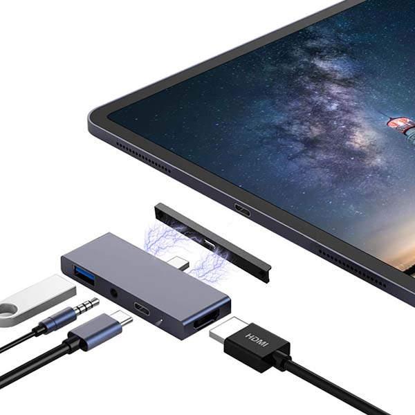 JoyGeek Compact USB-C Hub for iPad Pro