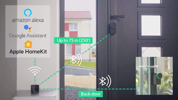 Keymitt Smart Lock with WiFi Hub