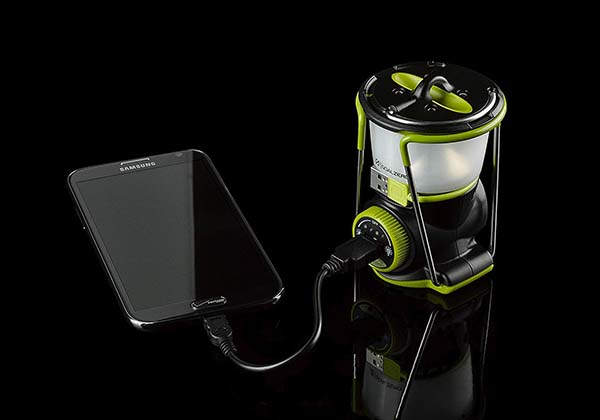Lighthouse Mini LED Lantern Doubles as Portable Power Bank