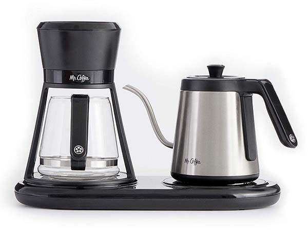 Mr. Coffee BVMC-PO19B All-in-One Pour Over Coffee Maker