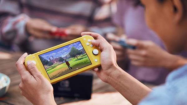 Nintendo Switch Lite Handheld Game Console