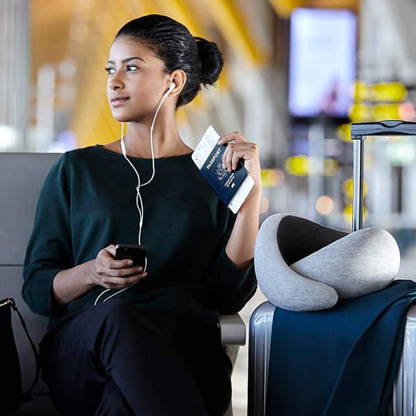 OstrichPillow Compact Packable Travel Neck Pillow