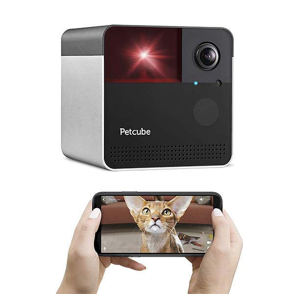 Petcube Play 2 Smart Pet Camera with Interactive Laser Toy and Alexa