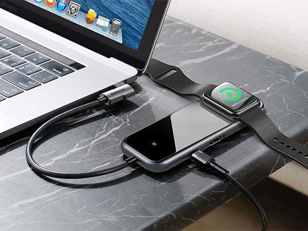 The 6-in-1 USB-C Hub with Apple Watch Charger and 60W Power Delivery