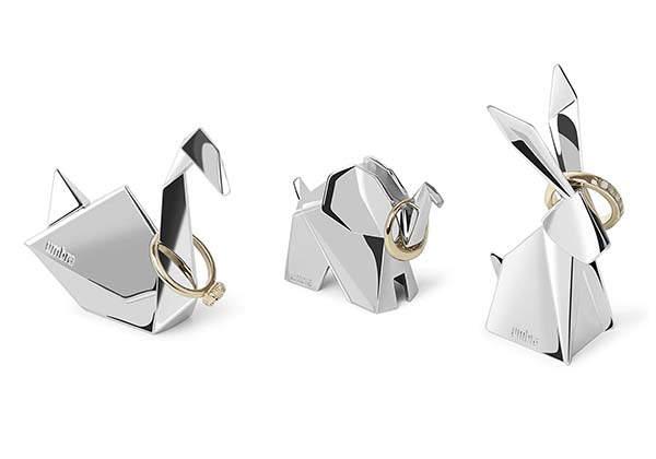 Umbra Origami Inspired Animal Ring Holder