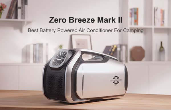 Zero Breeze Marka II Battery-Powered Portable Air Conditioner