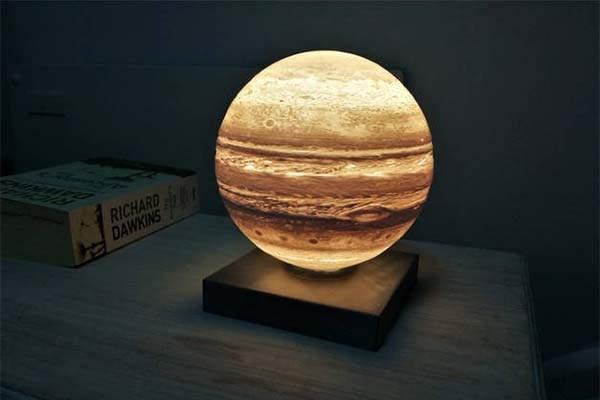 3D Printed Jupiter Planet LED Night Light