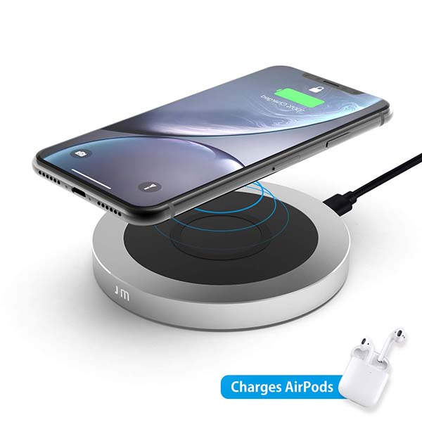 Just Mobile AluBase Aluminum Wireless Charger