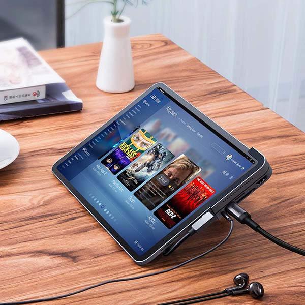 Baseus 6-In-1 Aluminum iPad Pro USB-C Hub