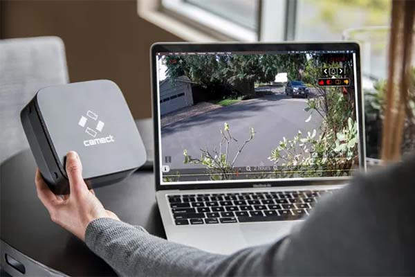 Camect Smart Security Camera Hub with AI Object Detection