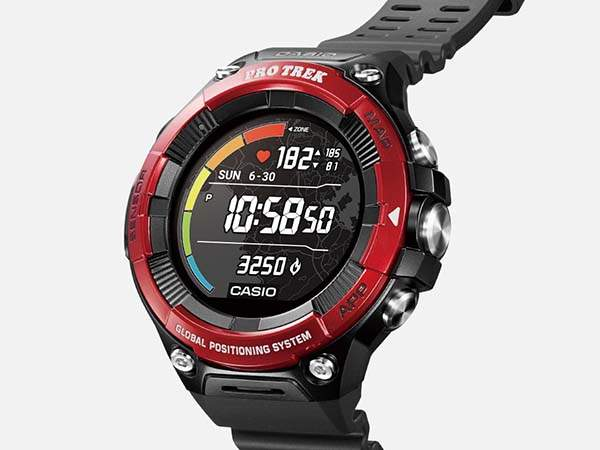 Casio Pro Trek WSD-F21HR GPS Smartwatch